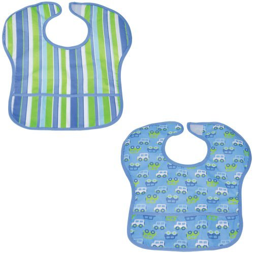 Comfy Baby Bib BLUE - 1