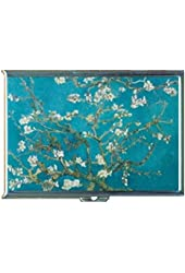 Vincent Van Gogh Post-Impressionist Artwork Stainless Steel ID or Cigarettes Case (King Size or 100mm)