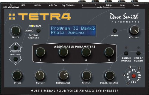 Review Dave Smith Instruments Tetra