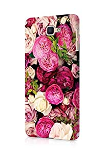 Cover Affair Flowers Printed Back Cover Case for Samsung Galaxy On 7 2016