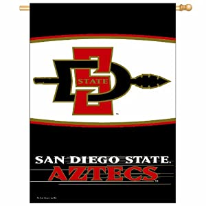 Buy NCAA San Diego State Aztecs 27-by-37 inch Vertical Flag by WinCraft