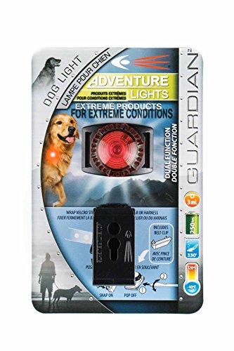 Adventure Lights Guardian Dog Light, Red