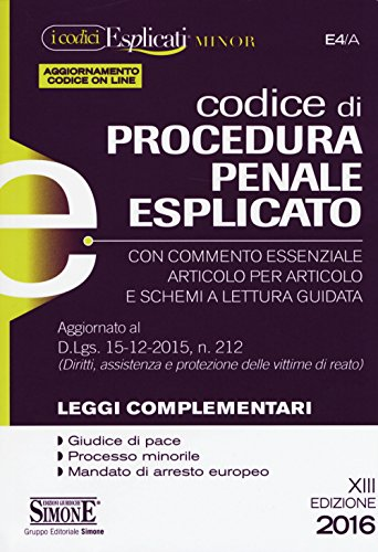 Codice di procedura penale esplicato Ediz minore Con aggiornamento online PDF