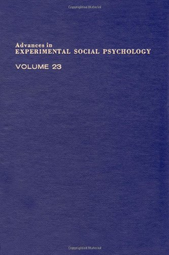 Advances in Experimental Social Psychology, Volume 23