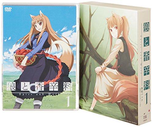 おすすめアニメ キャッチ 狼と香辛料1<限定パック>(初回限定生産) [DVD]