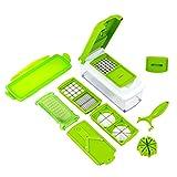 Globalepartner Nicer-Slicer03 Green Chopper