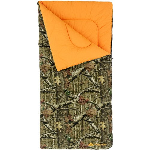 Sleeping Cold Weather Bag 20 Degree Canvas Shell Mossy Oak Camo Pattern front-828062