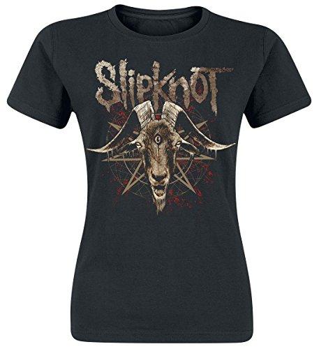 Slipknot Third Eye Goat Maglia donna nero XXL