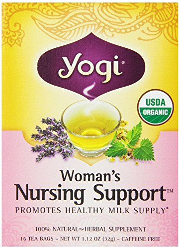 Yogi Woman'S Nursing Support Tea, 16 Tea Bags (Pack Of 6)