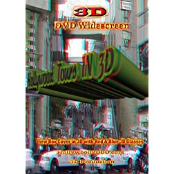 Hollywood Tours IN 3D for 3D TVs
