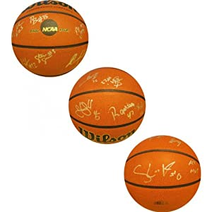 2012-2013 Miami Hurricanes Autographed Basketball by Hollywood+Collectibles