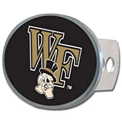 Buy NCAA Wake Forest Demon Deacons Oval Hitch Cover by Siskiyou Sports