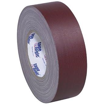 "Tape Logic T98718BUR Gaffers Tape, 11 mil Thick, 60 yds Length x 2"" Width, Burgundy (Case of 24)"