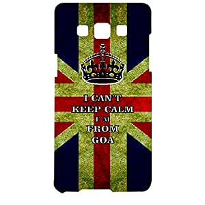 Skin4gadgets I CAN'T KEEP CALM I'm FROM GOA - Colour - UK Flag Phone Designer CASE for SAMSUNG GALAXY A5 (A5000)
