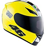 AGV K3 Celebr8 Valentino Rossi Helmet Color: Yellow Size: Xl