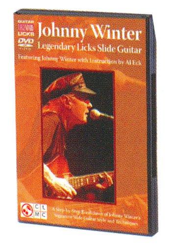 Johnny Winter: Legendary Licks Slide Guitar [DVD]  [US Import] [NTSC]