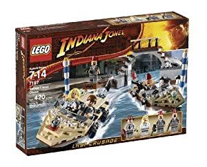 51sU6JKm28L. SX300  Reviews LEGO Indiana Jones Venice Canal Chase  7197