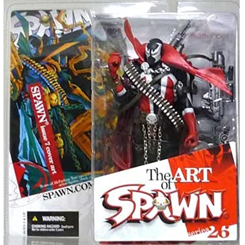 SPAWN 시리즈26 아트・오브・ 스폰   스폰  이슈7 커버 아트/The ART of SPAWN SERIES 26 SPAWN issue 7 cover art