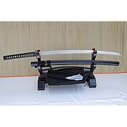 Gefaltetes Damaszener Samurai Schwert Katana Miyamoto Musashi