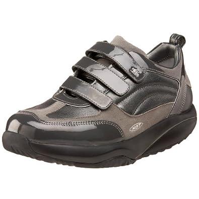 MBT Women's Nama Casual Patent Shoe,Grey,37 2/3 EU (US Women's 7.5 M)