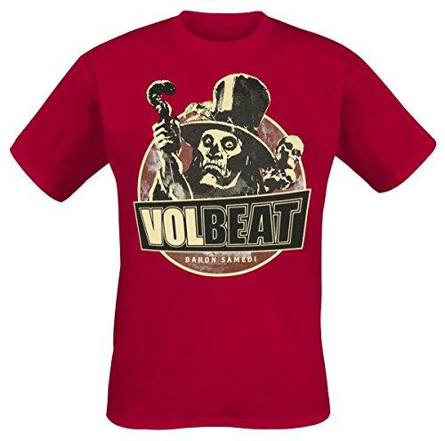 Volbeat Baron Samedi T-Shirt bordeaux S