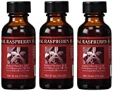 Bakto Flavors Natural Raspberry Flavor(1 FL OZ) Pack of 3