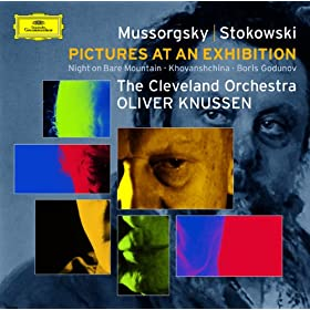 Modest Petrovich Mussorgsky: Boris Godounov - Symphonic Synthesis by Leopold Stokowski - 5. Outside the Church of Saint Basil - The Idiot foretells the fate of Russia - The starving crowd ask Boris fo
