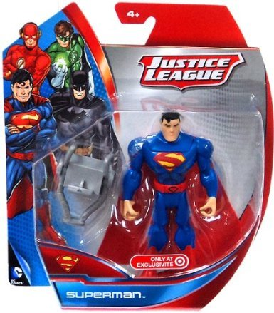 "Superman #Y9120 - 5"" Figurine- Justice League Target Exclusive"