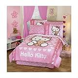Hello Kitty Amor Bedspread Twin