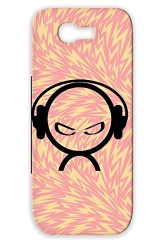 Tpu Black Alien Dj Music Lover Wearing Headphones Dance Dance Electronica Headphones Djing Music Alien Classical Beat Case Cover For Sumsang Galaxy Note 2
