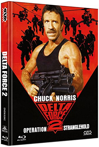 Delta Force 2 - uncut (Blu-Ray+DVD) auf 333 limitiertes Mediabook Cover C [Limited Collector's Edition] [Limited Edition]