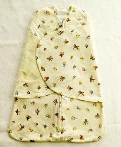 Halo Innovations SleepSack Organic Cotton Swaddle - Cowboy, Newborn