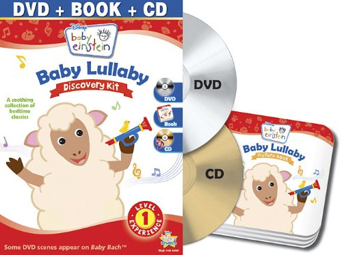 Baby Einstein: Baby Lullaby Discovery Kit (One-Disc Dvd + Cd + Picture Book) front-503930