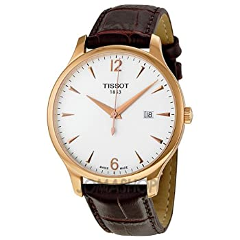 Tissot Tradition Rose Gold PVD Mens Watch T0636103603700 by Tissot