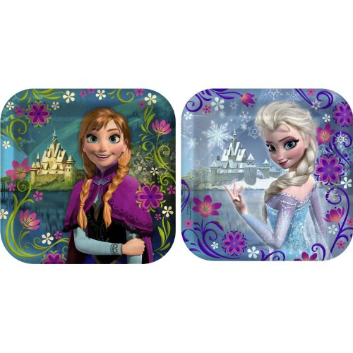 Why Choose Disneys Frozen Party 7 Square Cake/Dessert Plates