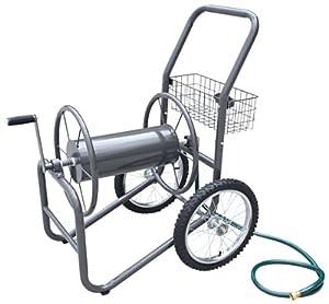 Liberty Garden Products 880-2 Industrial 2 Wheel Solid Garden Hose Reel Cart - Bronze