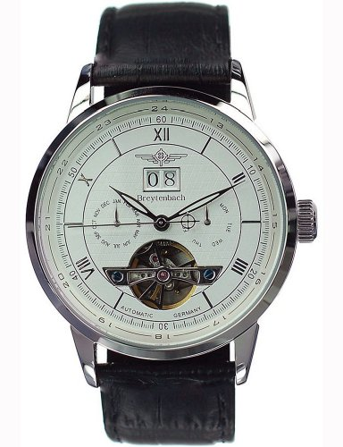 Breytenbach Men's Automatic Big-Date Watch Bb8645Ww