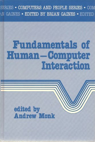 Fundamentals of Human-Computer Interaction