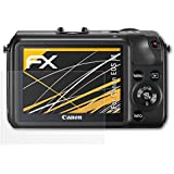 3 x atFoliX Schutzfolie Canon EOS M Folie Displayschutzfolie - FX-Antireflex blendfrei