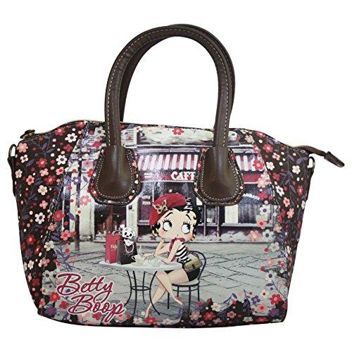 Betty Boop Cafè Borsa da Donna Bauletto Bowling Mini Tote