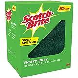 Scotch Brite Heavy Duty Scouring Pads 20 Count
