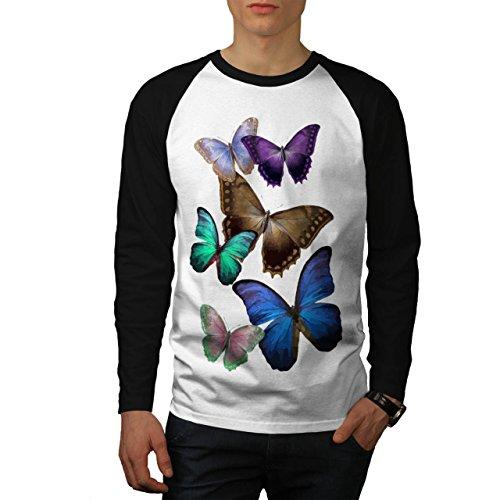 papillon-multicolore-printemps-homme-nouveau-blanc-avec-manches-noires-l-base-ball-manche-longue-t-s