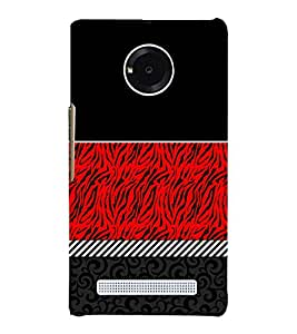 Abstract Pattern 3D Hard Polycarbonate Designer Back Case Cover for YU Yunique