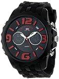 U.S. Polo Assn. Sport Mens US9117  Black Silicone Analog Digital Watch