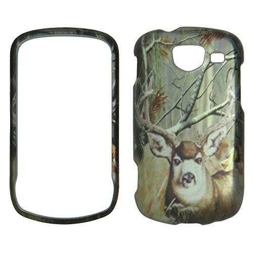 2D Kamo Deer Forest Samsung U380 Brightside Verizon Wireless Case Cover Hard Phone Case Snap-On Protecor Cover Rubberized Touch Faceplates