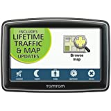 TomTom XXL 550TM 5-Inch Portable GPS Navigator (Lifetime Traffic and Maps Edition)