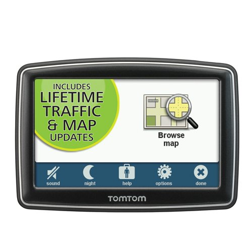 TomTom XL 350TM 4.3-Inch Portable GPS Navigator (Lifetime Traffic and Maps Edition)