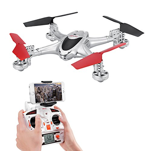 Potensic 2.4GHz 4 Channels 6 Axis Gyro RC Quadcopter with WiFi Camera