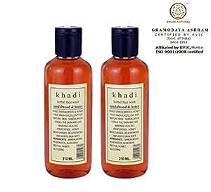Khadi Sandal & Honey Herbal Face Wash