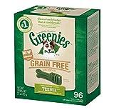GREENIES Grain Free Dental Chews TEENIE Treats for Dogs - 27 oz. 96 Treats